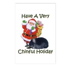 Chinful Holiday - Postcards (Package of 8)