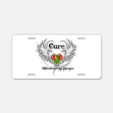 Cure Mitochondrial Disease Aluminum License Plate