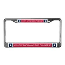 Elect Michele Bachmann License Plate Frame