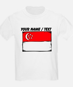 Custom Singapore Flag T-Shirt