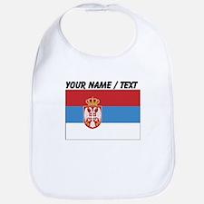 Custom Serbia Flag Bib