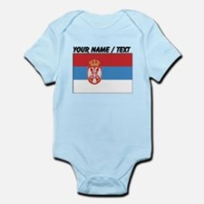 Custom Serbia Flag Body Suit