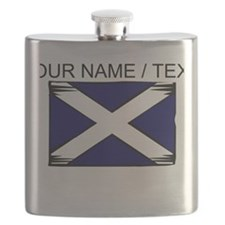 Custom Scotland Flag Flask