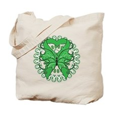 MITO Awareness Butterfly Tote Bag