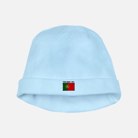 Custom Portugal Flag baby hat
