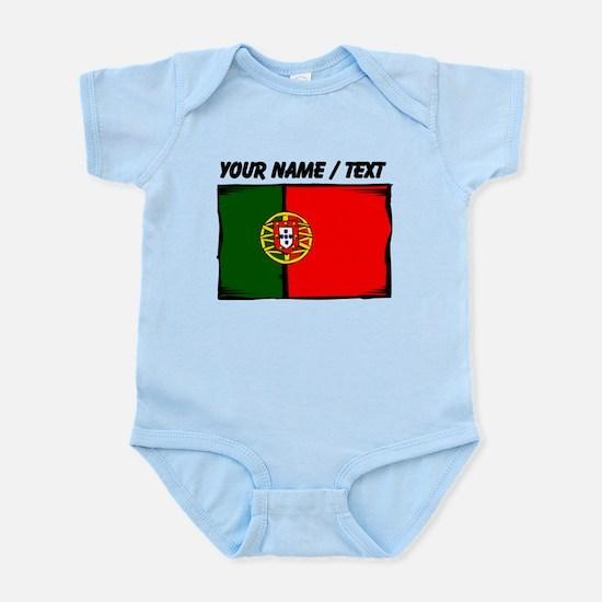 Custom Portugal Flag Body Suit