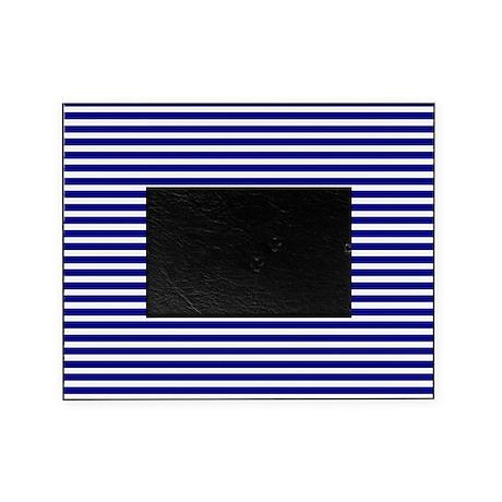 navy blue picture frame by stankowskishop. Black Bedroom Furniture Sets. Home Design Ideas
