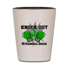Knock Out MITO Disease Shot Glass