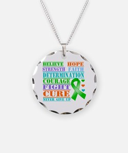 Believe Hope MITO Awareness Necklace