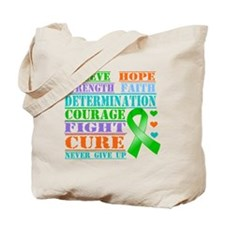 Believe Hope MITO Awareness Tote Bag