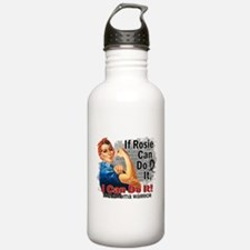 If Rosie Can Do It Melanoma Water Bottle