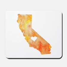 California Love Watercolor Mousepad