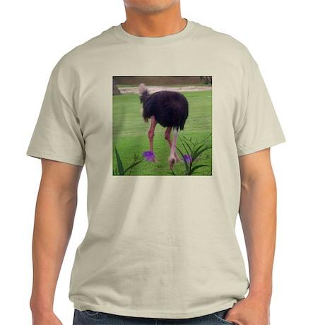ostrich Ash Grey T-Shirt