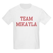 TEAM MIKAYLA  Kids T-Shirt