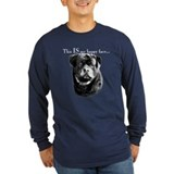 Rottweiler happy face Long Sleeve T Shirts
