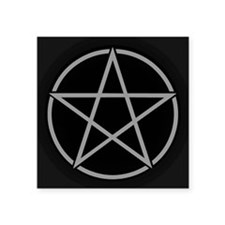 Black Pentacle Sticker