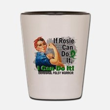 If Rosie Can Do It Cerebral Palsy Shot Glass