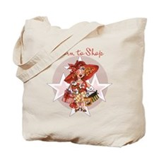 Born to Shop 2000x2000.png Tote Bag