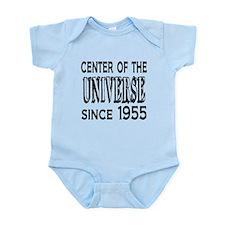 Center of the Universe Since 1955 Infant Bodysuit