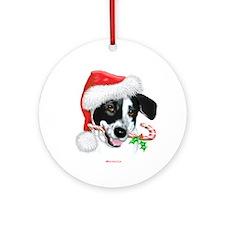 Sparky Christmas Ornament (Round)