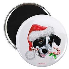 Sparky Christmas Magnet