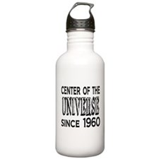 Center of the Universe Since 1960 Water Bottle