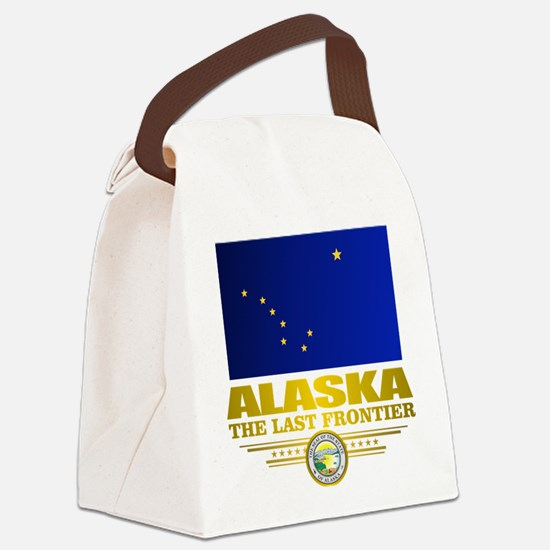 Alaska Pride Canvas Lunch Bag