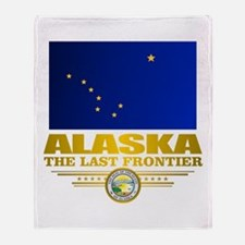 Alaska Pride Throw Blanket