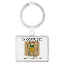 Im Confused Keychains
