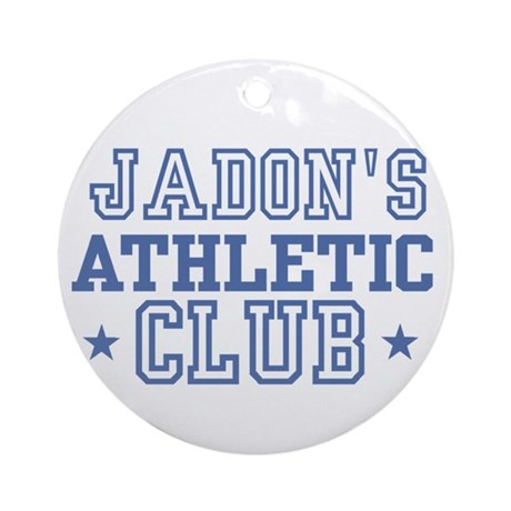 Jadon Ornament (Round)