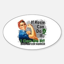 If Rosie Can Do It Liver Cancer Decal