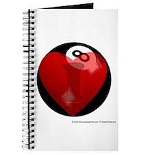 I Love 8-ball Journal