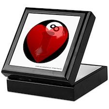 I Love 8-ball Keepsake Box