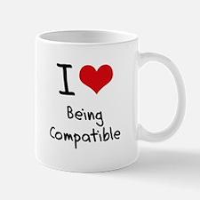 I love Being Compatible Mug