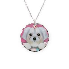 Morkie Shelly Necklace