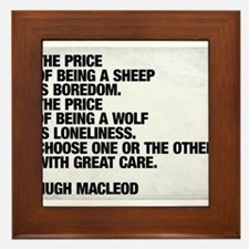 Are you a sheep or a wolf? Choose with great care