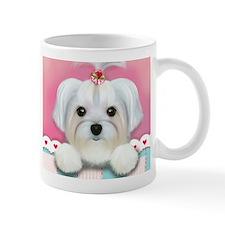 Morkie Shelly Small Mugs