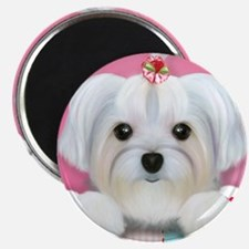 """Morkie Shelly 2.25"""" Magnet (10 pack)"""