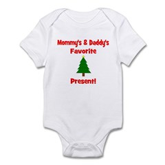 Mommy & Daddy's Favorite Pres Infant Bodysuit