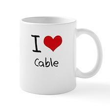 I love Cable Mug