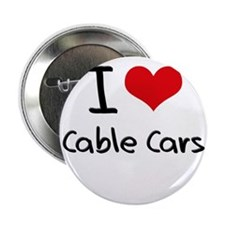 "I love Cable Cars 2.25"" Button"