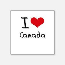 I love Canada Sticker