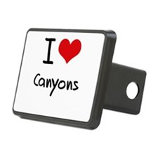 I love Canyons Hitch Cover