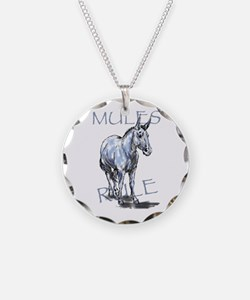 Mules Rule Necklace