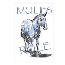 Mules Rule Postcards (Package of 8)
