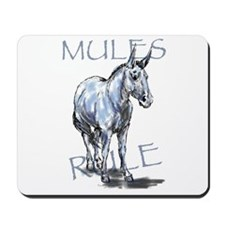 Mules Rule Mousepad