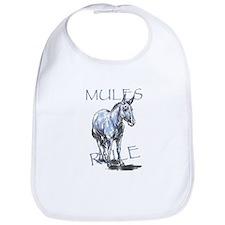 Mules Rule Bib