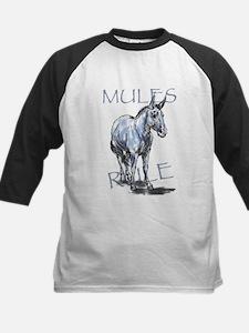 Mules Rule Baseball Jersey