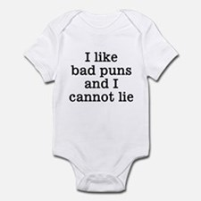 I Like Bad Puns Infant Bodysuit