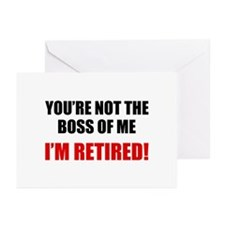 You're Not The Boss of Me Greeting Cards (Pk of 20